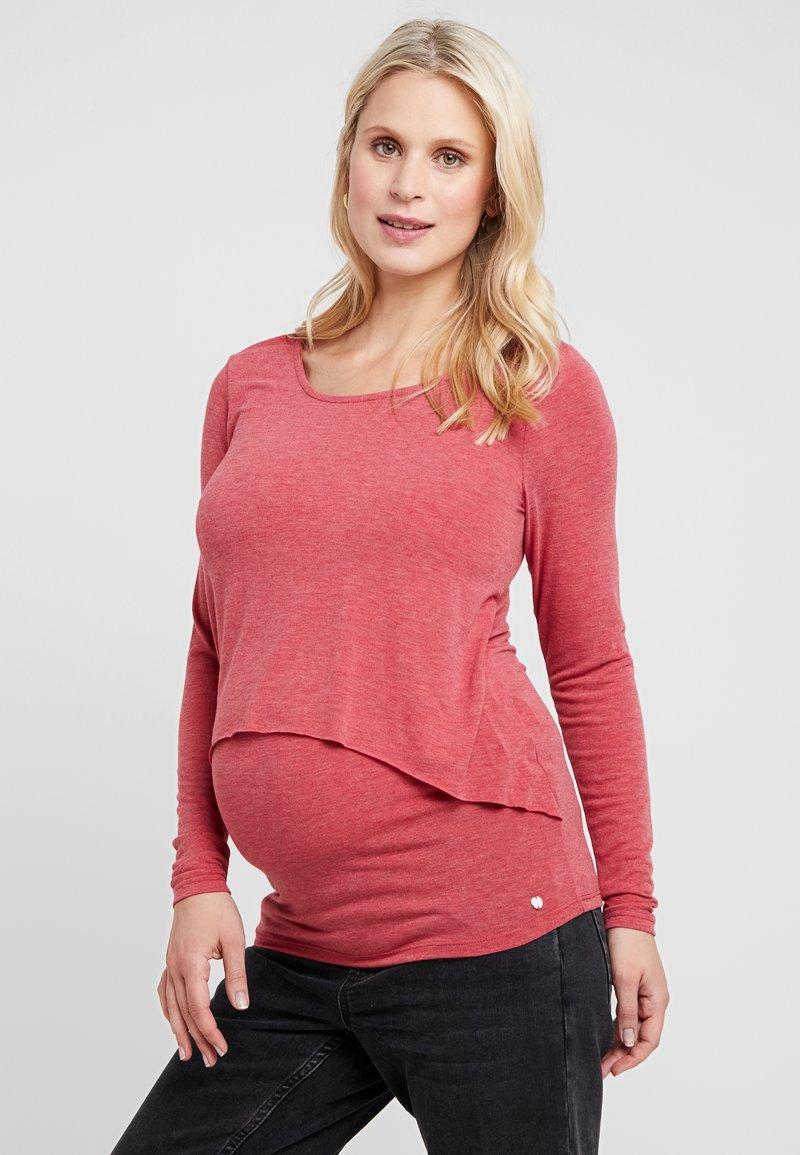 Esprit Maternity - NURSING - Langærmede T-shirts - red