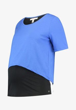 T-shirt print - bright blue