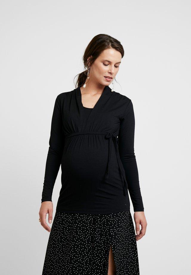 NURSING - Langarmshirt - black