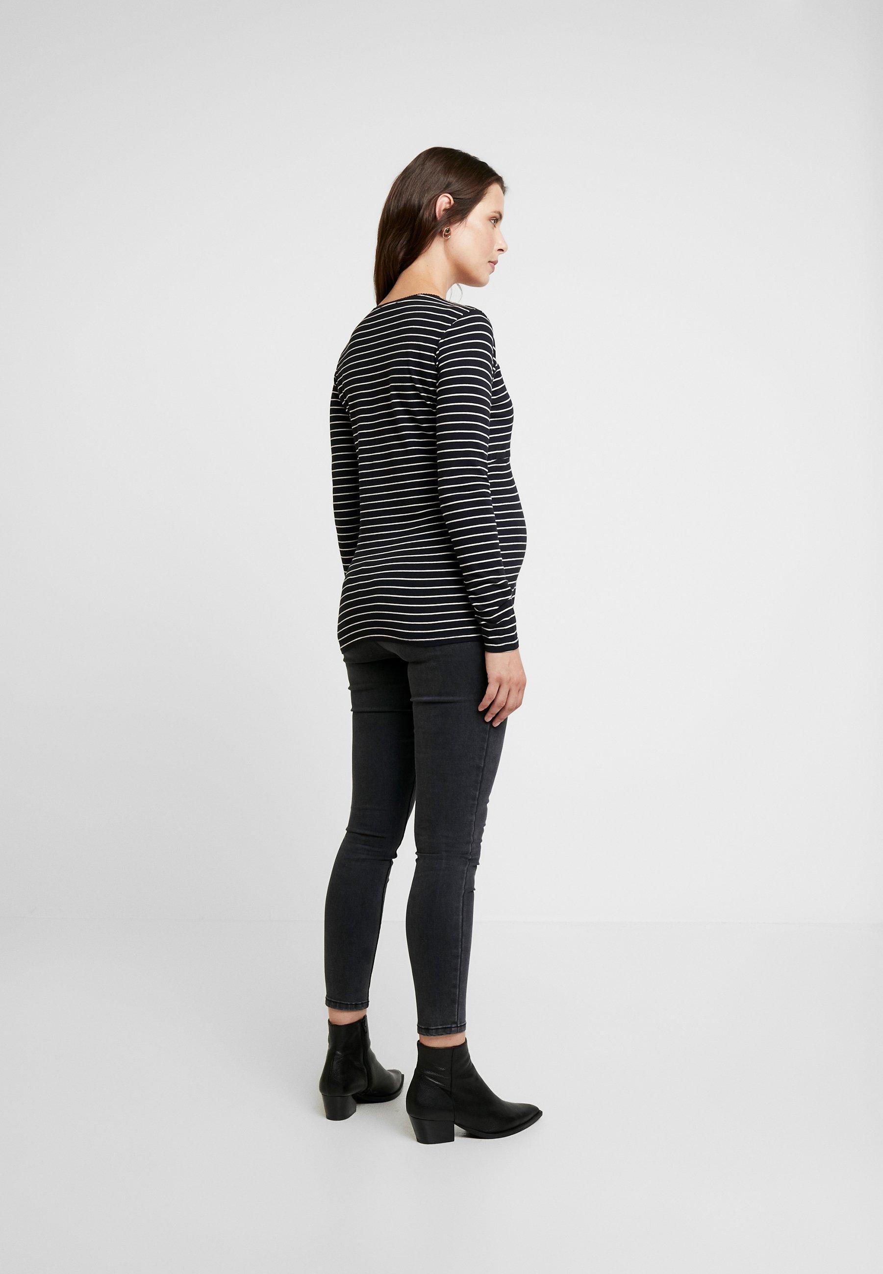 Esprit Maternity NURSING - Topper langermet - black