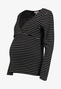 Esprit Maternity - NURSING - Langærmede T-shirts - black - 3