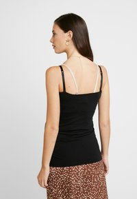 Esprit Maternity - SPAGHETTI NURSING - Top - black - 2