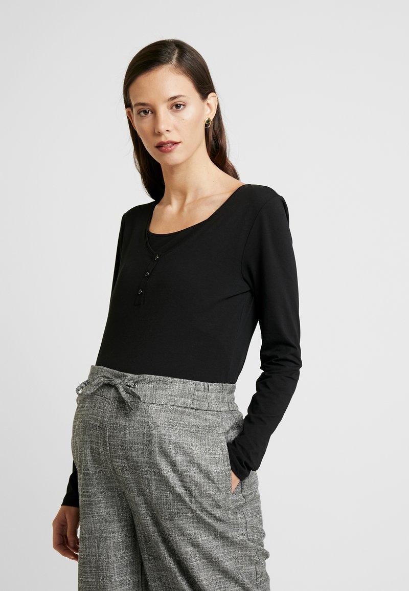 Esprit Maternity - NURSING - Langærmede T-shirts - black