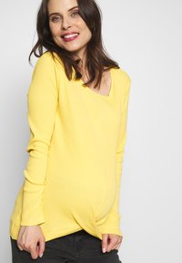 Esprit Maternity - Langarmshirt - dusty yellow - 3