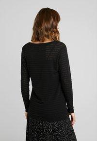 Esprit Maternity - NURSING - T-shirt à manches longues - black - 2