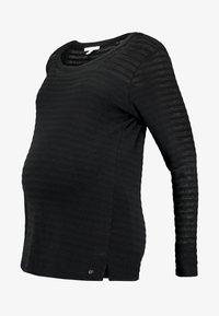 Esprit Maternity - NURSING - T-shirt à manches longues - black - 3
