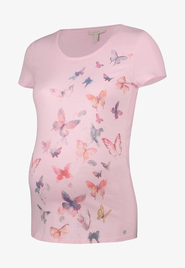 T-shirts print - light pink