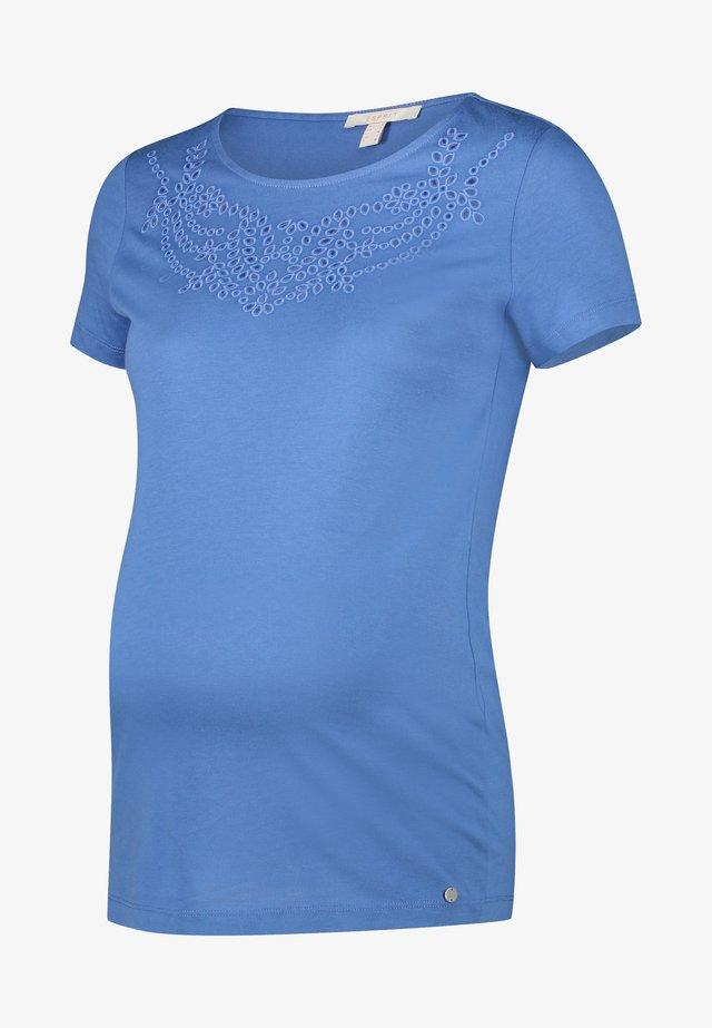 T-shirts print - grey blue