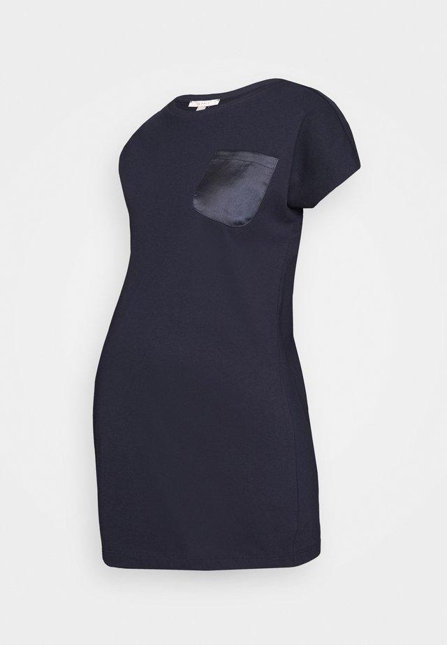 T-shirts med print - night sky blue