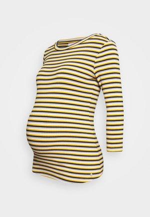 Bluzka z długim rękawem - chinese yellow