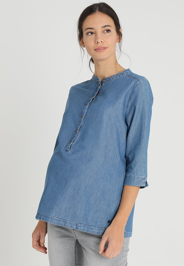 Esprit Maternity - BLOUSE 3/4  - Blouse - bright blue