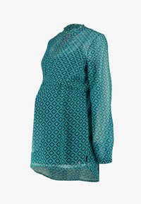Esprit Maternity - BLOUSE NURSING - Pusero - teal green - 3