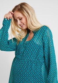 Esprit Maternity - BLOUSE NURSING - Pusero - teal green - 4
