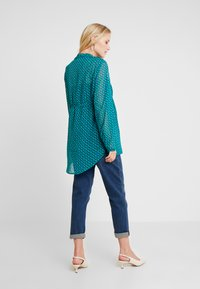 Esprit Maternity - BLOUSE NURSING - Pusero - teal green - 2