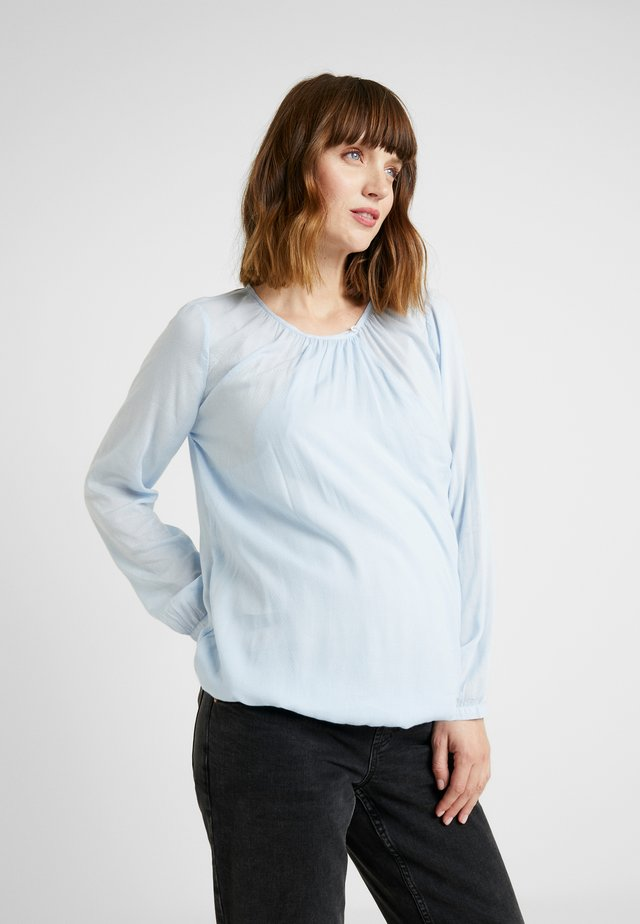 BLOUSE - Bluse - light blue