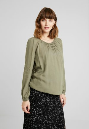 BLOUSE - Blouse - light khaki