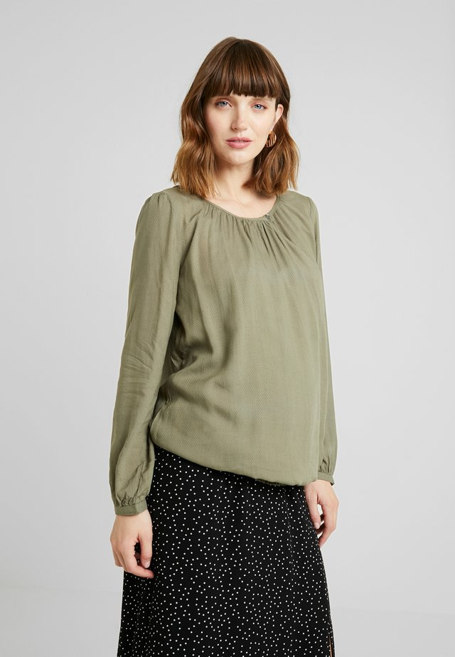 BLOUSE - Bluse - light khaki