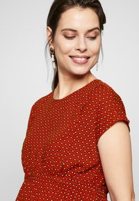 Esprit Maternity - BLOUSE NURSING - Blouse - red - 3