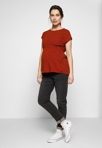 Esprit Maternity - BLOUSE NURSING - Blouse - red - 1