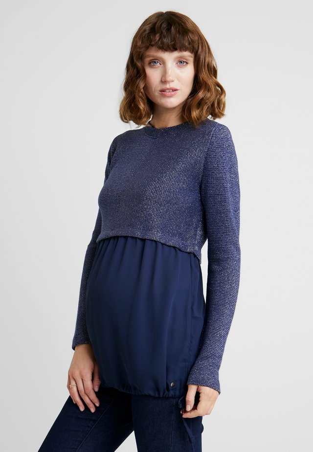 MIX - Strickpullover - navy