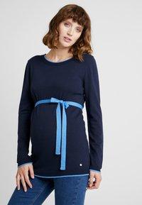Esprit Maternity - SWEATER - Strikkegenser - night blue - 0