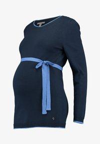 Esprit Maternity - SWEATER - Strikkegenser - night blue - 3