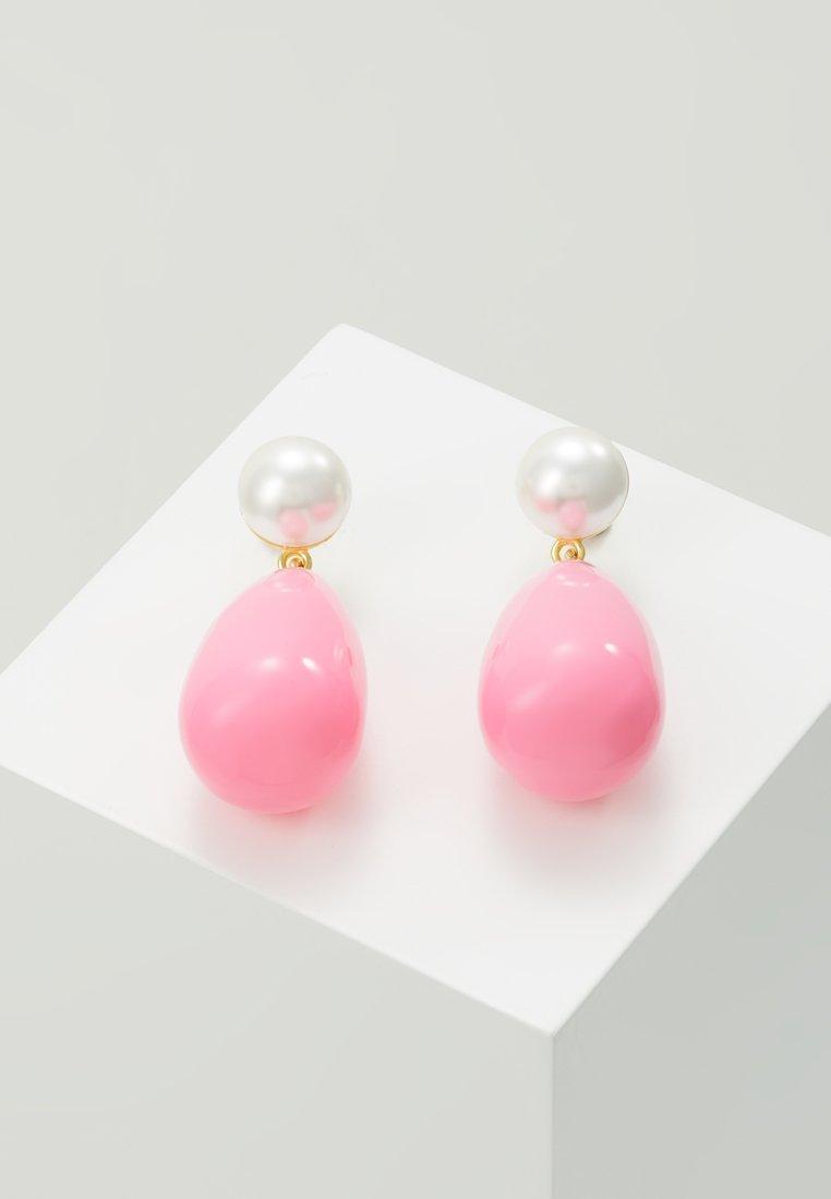 Eshvi - Boucles d'oreilles - gold-coloured/pink