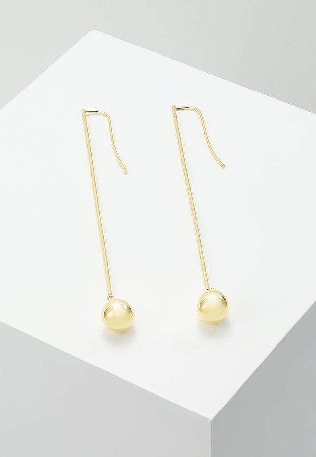 Øreringe - gold-coloured