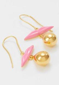 Eshvi - Korvakorut - gold-coloured/pink - 4