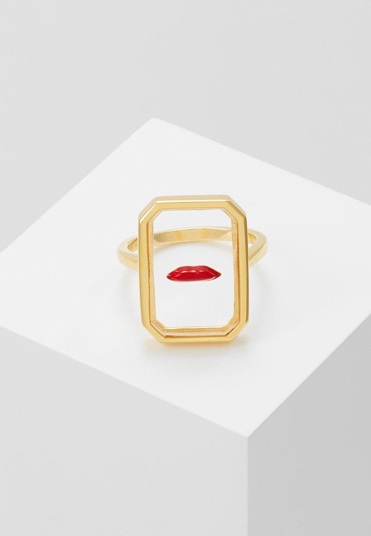 Eshvi - Ring - yellow gold-coloured