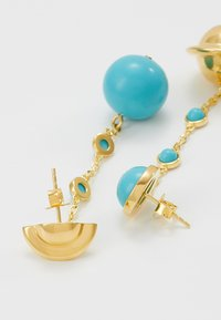 Eshvi - ASTRO - Ohrringe - gold-coloured/turquoise - 2