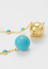 Eshvi - ASTRO - Ohrringe - gold-coloured/turquoise - 5