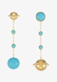 Eshvi - ASTRO - Ohrringe - gold-coloured/turquoise - 4