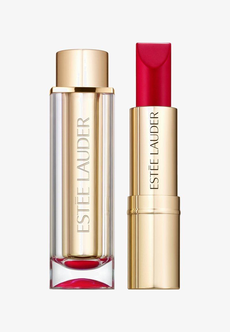 Estée Lauder - PURE COLOR LOVE LIPSTICK MATTE - Lipstick - 220 shock and awe