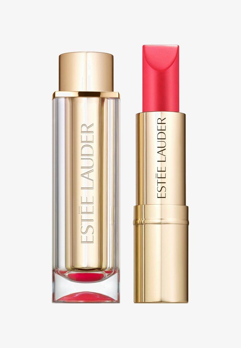 Estée Lauder - PURE COLOR LOVE LIPSTICK CREMÉ - Rouge à lèvres - 330 wild poppy