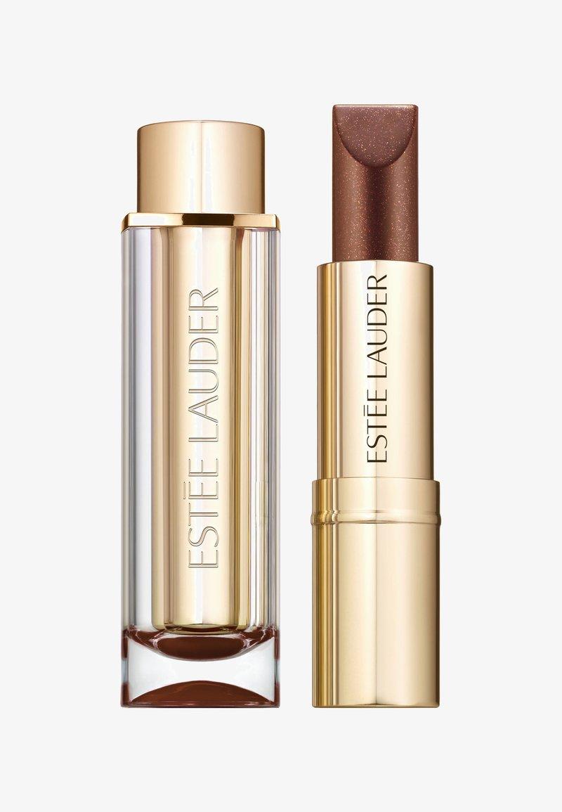 Estée Lauder - PURE COLOR LOVE LIPSTICK CHROME - Lipstick - 160 granite planet
