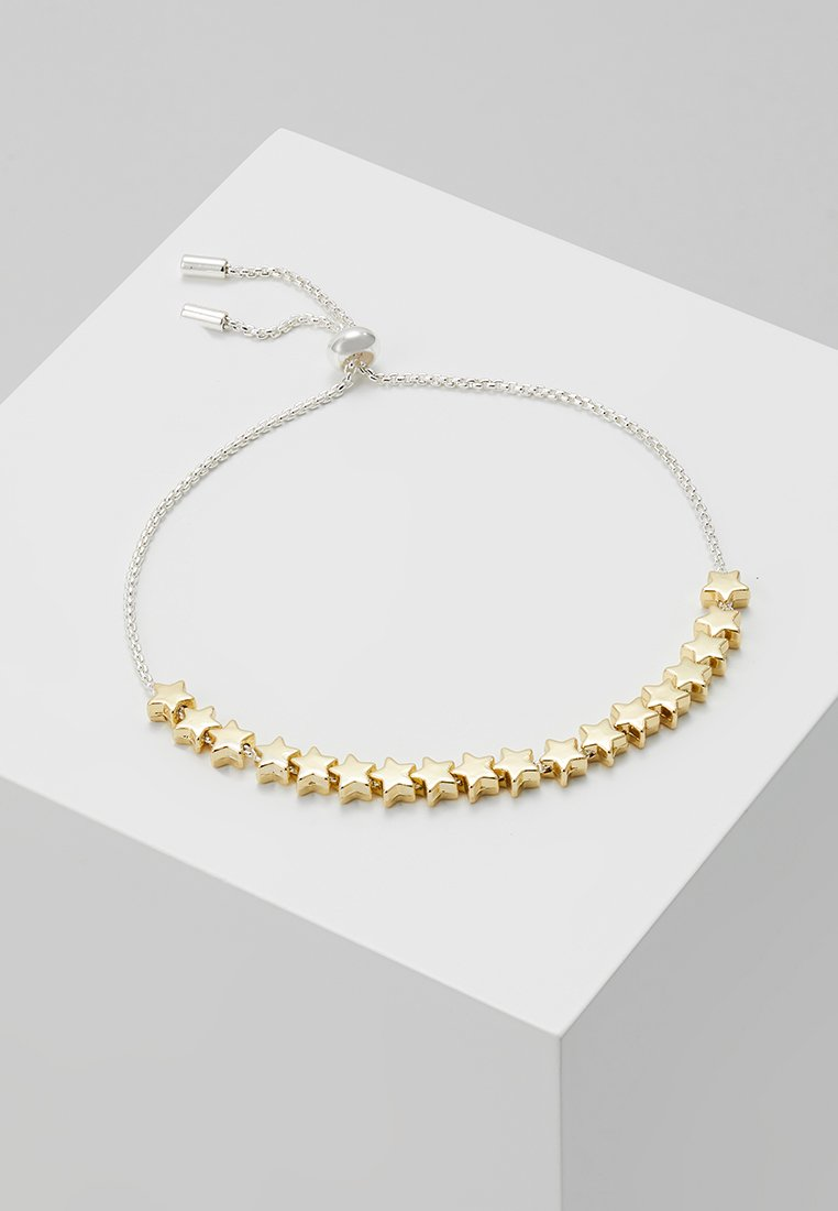 Estella Bartlett - STARS SO BRIGHT CHAIN SLIDER - Armband - gold-coloured/silver-coloured