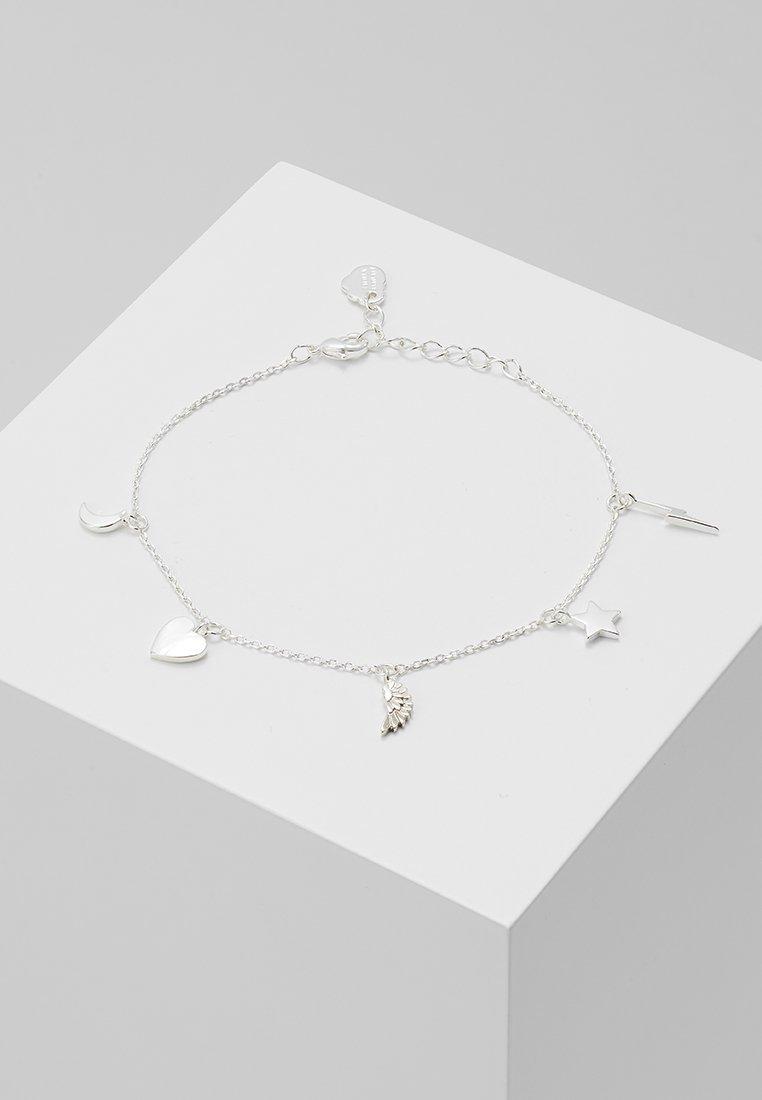 Estella Bartlett - MULTI CHARM BRACELET - Bracciale - silver-coloured