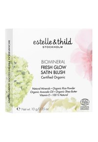 Estelle & Thild - BIOMINERAL FRESH GLOW SATIN BLUSH 10G - Rouge - soft pink - 1