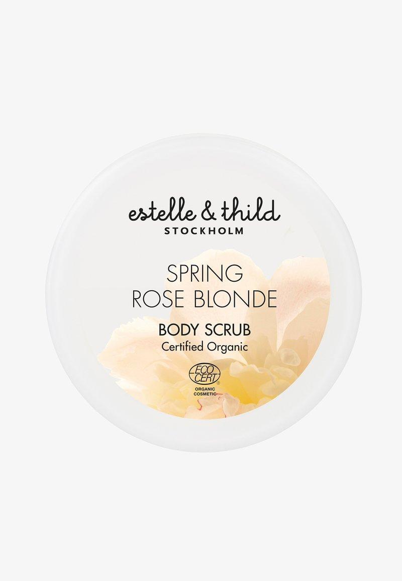 Estelle & Thild - SPRING ROSE BLONDE BODY SCRUB 200ML - Body scrub - -