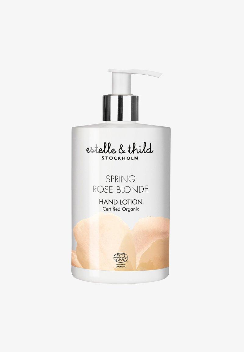 Estelle & Thild - SPRING ROSE BLONDE HAND LOTION 250ML - Hand cream - -