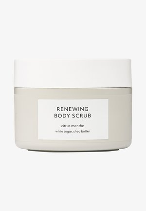 CITRUS MENTHE RENEWING BODY SCRUB - Body scrub - -
