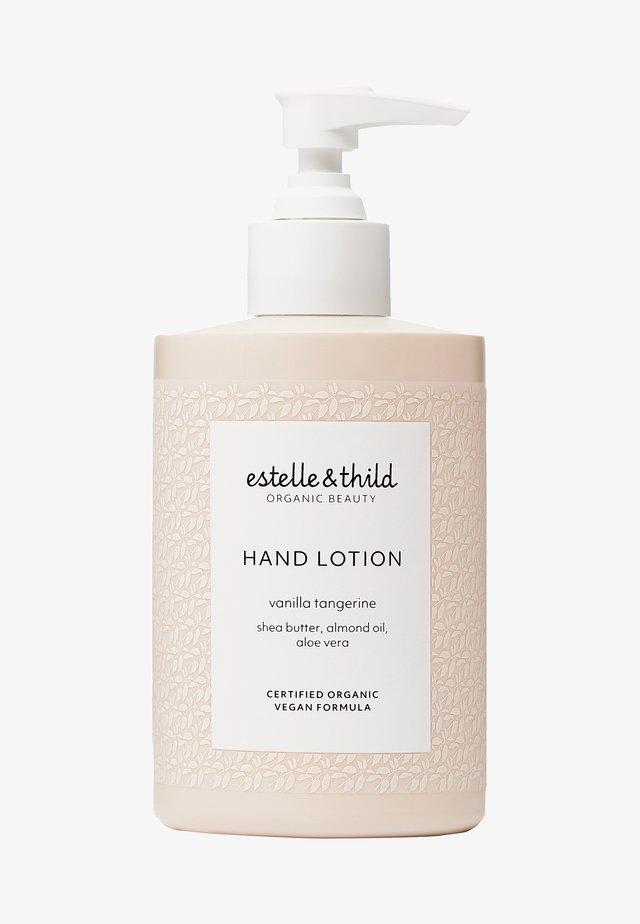 VANILLA TANGERINE HAND LOTION - Hand cream - -