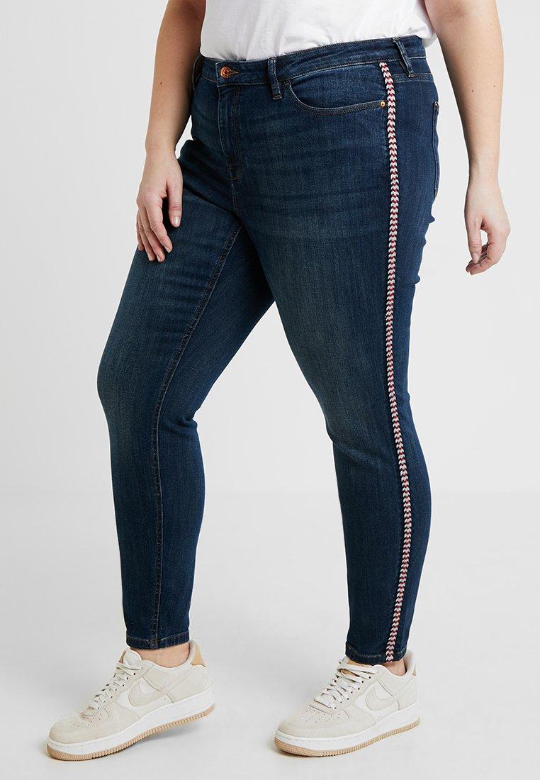 Esprit Curves - MR SKINNY - Jeans Skinny Fit - blue dark wash