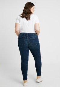 Esprit Curves - MR SKINNY - Jeans Skinny Fit - blue dark wash - 2
