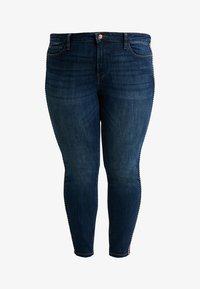 Esprit Curves - MR SKINNY - Jeans Skinny Fit - blue dark wash - 3