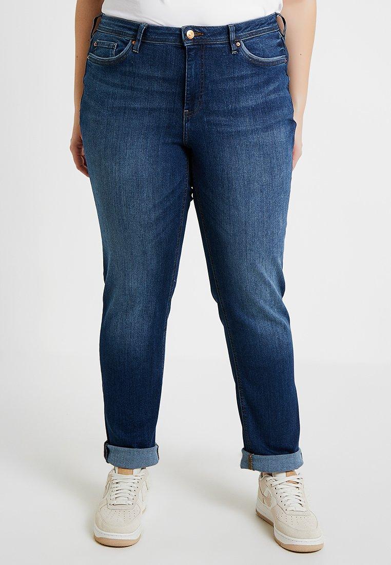 Esprit Curves - Straight leg jeans - blue medium wash