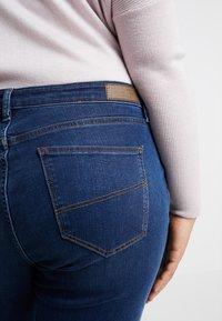 Esprit Curves - MR SKINNY - Jeans Skinny Fit - blue dark wash - 5
