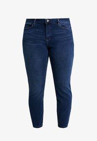 Esprit Curves - MR SKINNY - Jeans Skinny Fit - blue dark wash - 4