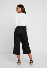 Esprit Collection Petite - CULOTTE - Kalhoty - black - 3